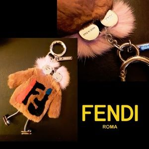 New!🤯Fendi Fur Keychain!🤯